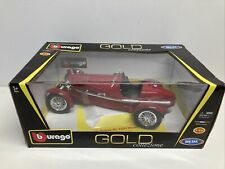 Bburago Gold Collection 1931 Alfa Romeo 8C 2300 Monza 1:18 Die-Cast
