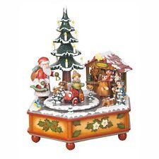 Hubrig Wintermusikdose Weihnachtszeit Erzgebirge