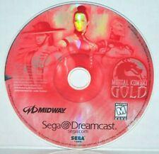 Mortal Kombat Gold (Sega Dreamcast, 1999) Video Game Works Great!
