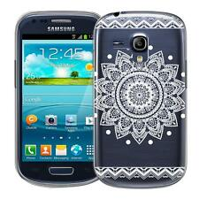 Protective Case Samsung Galaxy S3 Mini Silicone Phone Mandala Sleeve Cover