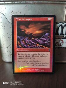 Veine De Magma - Magma Vein MTG Magic Ody Odyssey fr FOIL NMINT 2001