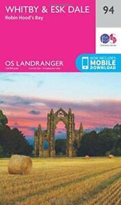 Landranger (94) Whitby, Esk Dale & Robin Hood's Bay (OS Landranger Map) Da Ordna
