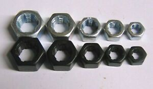 """1/4"""" - 1/2"""" US THREAD CHASER RETHREADING DIE SET UNC UNF SAE  MADE IN USA 10PCS"""