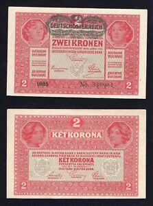 Austria/Ungheria 2 kronen 1917 SUP+/AU+  A-02