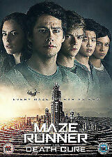 Maze Runner - The Death Cure DVD 2018 Region 2 Factory Delivery