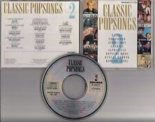 CLASSIC POPSONGS 2 ARCADE CD Depeche Mode Alphaville Duncan Browne Dream Academy
