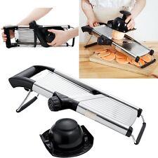 Stainless Steel Mandoline Slicer Adjustable Blades Kitchen Vegetable Food Cutter