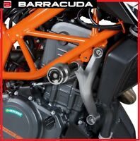 TAMPONI SLIDER PARATELAIO PARAMOTORE BARRACUDA KTM DUKE 390 2013 - 2016