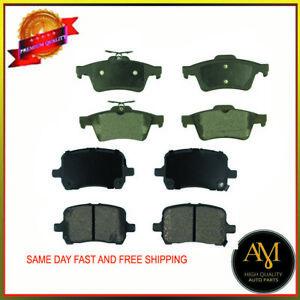 For Pontiac & Saturn Front&Rear Full Set Brake Pads