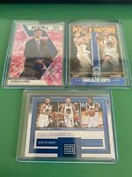 Stephen Curry Mosaic Pink Camo Prizm Insert LOT Klay Thompson Kevin Durant Hoops
