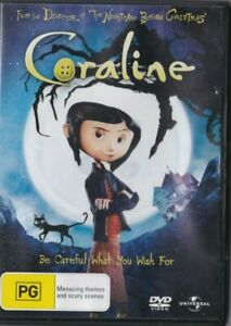 VERY GOOD DVD CORALINE