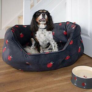 ZOON Ladybug Oval Pet Bed - XL Size - NEW