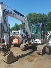2005 Bobcat 341G Mini Excavator w/ Cab & Hydraulic Thumb Coming Soon!