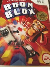 Boom Blox  (Nintendo Wii, 2008) Complete & Tested FAST SHIPPING