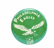 Sports pin button vtg NFL football pinback Philadelphia Eagles Reggie White afl