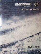 2011 EVINRUDE E-TEC 15, 25, & 30 HP SERVICE MANUAL NEW PN 5008326