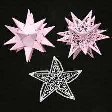 five-pointed Star Cutting Dies Stencil DIY Scrapbook Paper Card Embossing Craft