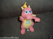 Plush Doll Figure Pink Dragon Tales Flying Cassie Flapping Wings Chantal Strand
