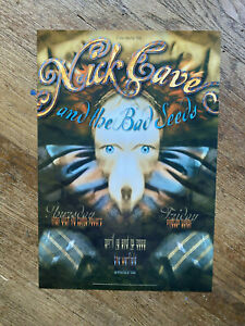NICK CAVE WARFIELD / FILLMORE POSTER 2002 BGP280