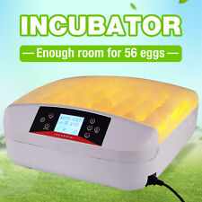 Digital 56-Egg Incubator Egg Hatcher Automatic Turner Poultry Chicken Bird Duck