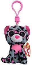 Ty Beanie Boo Boos 36616 Tasha The Leopard Key Clip 9cm