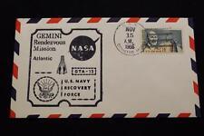 NAVAL SPACE COVER 1966 GEMINI GTA-12 RECOVERY SHIP USS CANISTEO (AO-99) (2199)