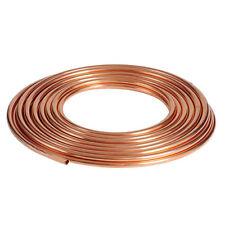Sanco ®  Kupferrohr weich in Ringen 25m oder 50m Durchmesser 6 8 10 12 15 18 22
