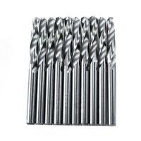 10pcs Solid Carbide Drill Bits 1/8inch Metal-working 3.175mm CNC 2-Flute