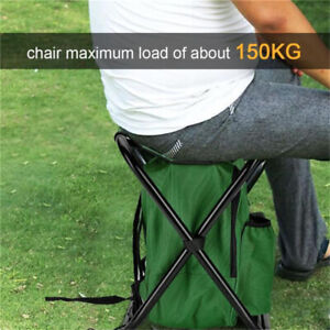 Outdoor Folding Chair Picnic Bag Multi-function Bento Pouch Hiking Seat C