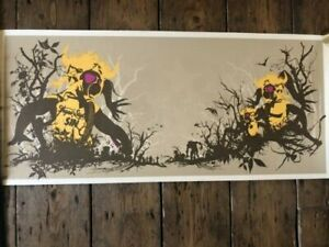 Super rare print from Paul + Justin Insect - limited edition of 750 prints