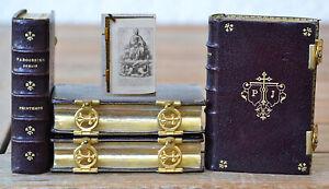 RELIGION - Parossien romain / Missel - Très beaux exemplaires en maroquin.