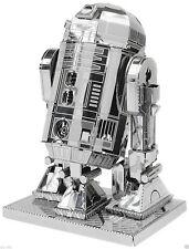 Metallo terra Star Wars 3d Kit Modellino in metallo di r2 d2-Nuovissimo E SIGILLATO!!!