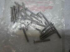 "Pack of 25: 6-32 X 1-1/4"" S/S Flat Socket Hd C/S Part No. 73945"