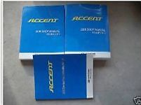 2008 HYUNDAI Accent Service Repair Shop Manual SET W EWD Brand New