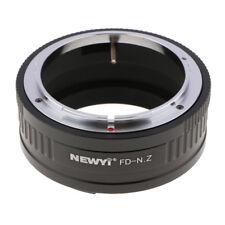 Anneau adaptateur pour objectif Canon FD à l'appareil photo Nikon Z7 Z6