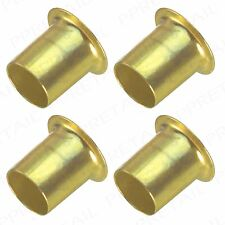 50x BRASS BANJO SHELF STUDS/SOCKETS Hafele Strong Metal Support/Pegs/Pin Cabinet