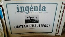 Ingenia Paper Model Chateau D'Hautefort