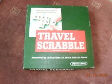 EXCELLENT SCRABBLE TRAVEL EDITION--by--SPEARS --1980 ?-- Complete