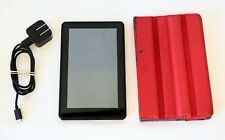Amazon Kindle 1st Generation Model D01400 7'' with Case and Charger Tested Works