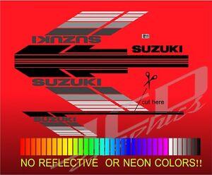 suzuki samurai sides lines decals