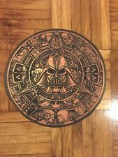 Star Wars MONSTER AZTEC CALENDAR RARE PRINTED patch sew COTTON CANVAS