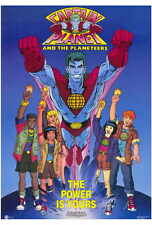 "CAPTAIN PLANET AND THE PLANETEERS Poster [Licensed-NEW-USA] 27x40"" Theater Size"