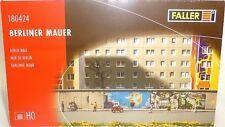 Berliner Mur Wall Kit de Montage 220x24x43mm Faller 180424 H0 1:87 Emballage