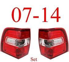 07 14 Expedition Tail Light Set, Complete Assemblies, Ford, L&R Included!