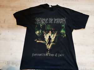 Cradle Of Filth Damnation And A Day Shirt 2003 L-XL Vintage