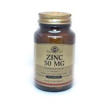 Solgar Zinc 50 mg Tabs - 100 tablets