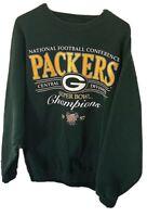 Vintage Galt Sand NFL Green Bay Packers 1997 Super Bowl Champions Sweatshirt XL