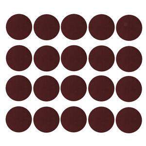 20 Stück 12cm Sander Schleifscheiben Pads 40 3000 Grit Klett Schleifpapier