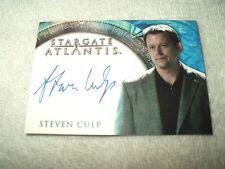 Stargate Atlantis Autograph Card Steven Culp as Henry Wallace