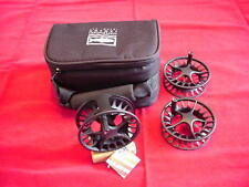 Lamson Remix 2 Plus 3 Fly Reel and 2 Spools  GREAT NEW